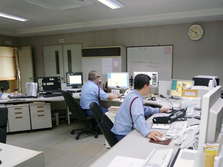 機械警備:警備室